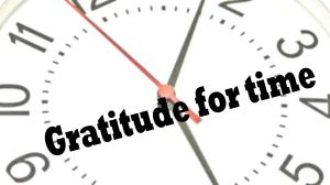Gratitude Minute: Time