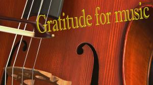 Gratitude Minute: Music